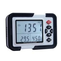 China Portable Digital CO2 Meter CO2 Monitor Detector HT-2000 Gas Analyzer 9999ppm CO2 Analyzers Temperature Relative Humidity on sale