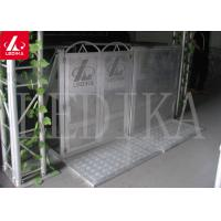 China Aluminium Concert Pedestrian Barrier , Easy To Assemble And Disassemble wholesale