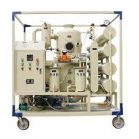 China Double Stages Vacuum Transformer Oil Filtration plant Transformer Oil Purifier wholesale