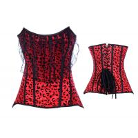China Wholesale - Lace up Steel Corset Bustier wholesale
