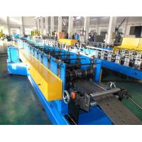 Buy cheap Automatic Hydraulic Decoiler Storage Rack Upright Roll Forming Machine With Gear Box from wholesalers
