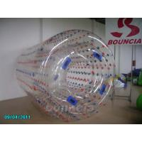 China Transparent Inflatable Water Walking Roller WR07 Used In Lake / Pool wholesale