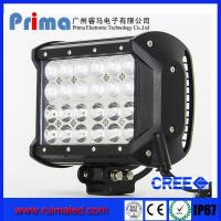 China 72W CREE 4 Row LED Offroad Light Bar-7 Inch wholesale