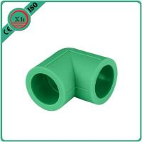 China Green / White PPR Pipe Elbow , PPR Elbow 90 20 - 110 MM Size Long Life Span wholesale