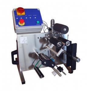 China semi-automatic circle labelling machine on sale