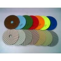 Buy cheap High working efficiency diamond polishing pads for marble,granite from wholesalers
