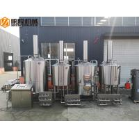 Buy cheap Stainless Steel Brewhouse Equipment , 20HL Steam Heated Beer brewing Equipment from wholesalers