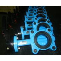 China Flange Tamper Switch Butterfly Valve , Wafer Rectangular Butterfly Valve wholesale