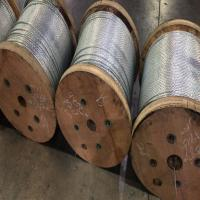 "China 1/ 4"" EHS STRAND 5000 FT REELS OF ZINCCOATED STEEL WIRE STRAND wholesale"
