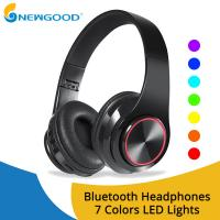 Buy cheap Wireless Headphones Bluetooth Earphone Foldable Adjustable Handsfree Headset from wholesalers