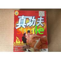 China Mens Herbal Sex Power Capsule , Zhengongfu Chinese Red Box Sex Stamina Capsule wholesale