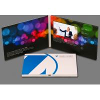 China 7 Inch TFT Screen LCD Video Mailer Coating Paper With 256MB Memory wholesale
