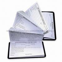 China Address Book, Made of Rubber Magnet, Metal and Wood-free Paper with 1C Printing wholesale