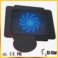 China Hot sell and good price laptop cooling pad with single fan wholesale
