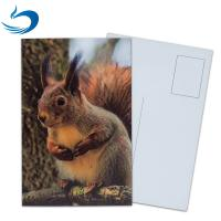 PET Seascape Pantone Color 3D Lenticular Printing Postcards For Greeting Light Weight