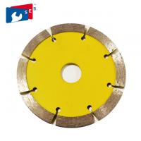 China 115mm V Shape Tuck Point Diamond Blades , Thick Kerf Crack Chaser Blade wholesale