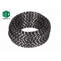 China 10.5mm Diameter Wire Saw Rope , Diamond Wire Rope For Concrete Cutting Machine wholesale