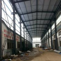 China Prefabricated Structural Steel Plant , Curved Roof Building Steel Structure Shed wholesale