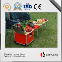 China Multi Function BBQ Outdoor Kitchen Prep Station With Fire Windproof Technology wholesale