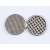 China 316 Stainless Steel Wire Mesh Filter Disc 1-635 Mesh For Plastic Extruder wholesale