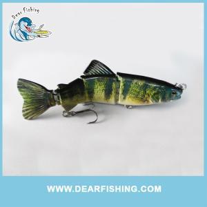 China segmented swimbait trout fishing lure on sale