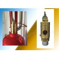 Quality Carbon Dioxide Cylinder Container Valve For Fm200 Extinguishing System for sale