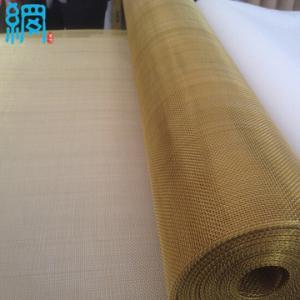 China 20 Mesh Brass Wire Mesh& Wire Cloth 1x30 rolls on sale