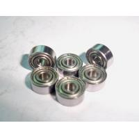 China Stainless Steel Deep Groove Ball Bearing S605 2RS, S605 ZZ wholesale