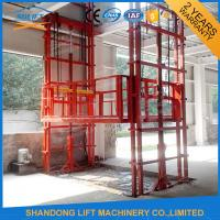 China Construction Material Handling Warehouse Elevator Lift 2 T Loading Capacity on sale