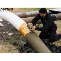 China Petrolatum Petroleum Wax Pipe Protection Tape Coating For Exterior Of Steel Pipe Fittings wholesale
