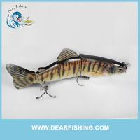China best jointed fishing lure 4 section lure trout swimbait wholesale