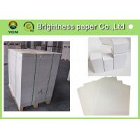 China Double Side White Back Duplex Board 450gsm Paper For Printing Industry wholesale