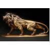 China Outdoor Large Metal Lion Sculpture Garden Cast Bronze Sculpture For Park Decoration wholesale