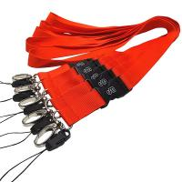 China Wholesale polyester neck lanyard no minimum order with J-hook wholesale