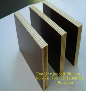 China Construction Phenolic Film Faced Plywood Marine Water Proof wholesale