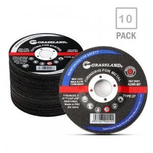 China Angle Grinder Inox EN 12413 115mm Metal Grinding Discs wholesale