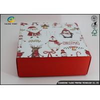 China Customized Chrismas Luxury Christmas Packaging Paper Gift Box Recycled Materials wholesale