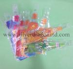China Beverage Plastic bag with Bottle shape wholesale