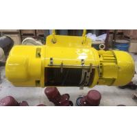 Heavy Duty 2 ton Electric Wire Rope Hoist For Storage / Warehouse / Workshop