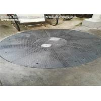 China Non Skid Composite Galvanized Metal GratingPlate For Sidewalks Ramps wholesale