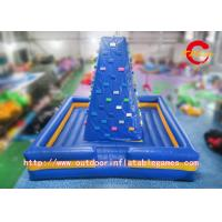 China Outdoor Air Rock Mountain Inflatable Climbing Walls For Children Sports Game wholesale