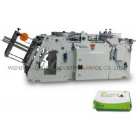 China Sever - motor Folder Gluer Machinery / Cardboard Disposable Thermocol Plate Making Machine on sale