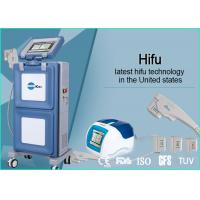 China Vertical Portable HIFU Machine High Intensity Focused Ultrasound For Face Lifting wholesale