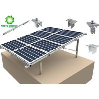 China Solar Bracket PV Power Energy Structure Mount Aluminum Solar Panel Mounting System With Strong Stability Strength wholesale