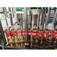 China Auto Carbonated Drink Filling Machine , Flavored Energy Drink Juice Bottling Machine wholesale