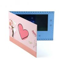 Quality Fashionable Video Greeting Card 7 Inch Digital Lcd Video Brochure Card for sale