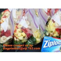 China Eco Friendly Resealable Small to Large Flat Food Packaging Clear Transparent PE Plastic Zip Lock Bags, Foil Zip Lock Foo wholesale