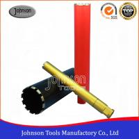 China Laser Welded Diamond Core Drill Bits For Construction 450mm Working Length wholesale