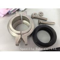 ASTM A270 Sanitary Stainless Steel Pipe Fittings Connectors TP 304 316L Manufactures