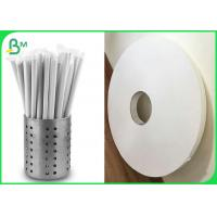 Drinking straw wrapping paper